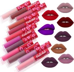 kylie jenner labio Rebajas Maquillaje a prueba de agua Desnuda lápiz labial líquido de larga duración mate kit de lápiz labial brillo de labios cosméticos maquillaje lipgloss labial