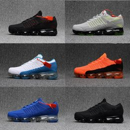 Wholesale Flooring Products - High quality New Running Shoes Airs Cushion 2018 Men Women Vapormax Product Hot Sale Breathable Sports Shoes Sneaker US 7-11 Free shipping