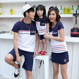 7a842af5812 Family Matching Outfits Summer Family Clothing Set Look Family Matching  Outfits Clothes For Boy Girl Women Men