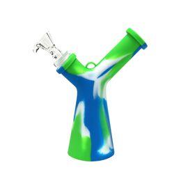 Стеклянные буровые установки онлайн-Bong Dab Rig курение барботер г-н У Мини водопровод табак нефтяной вышке со стеклянной чашей Китай Оптовая продажа на продажу