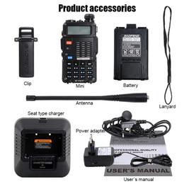 2019 radios de caza Baofeng F8HP walkie talkie Banda doble portátil 136-174 mhz 400-470 mhz hf transceptor F8HP Walkie-talkies para caza a 10 km radios de caza baratos