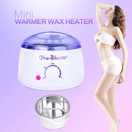 professional hair waxing Promo Codes - Professional Warmer Wax Heater Mini SPA Hand Epilator Feet Paraffin Wax Rechargeable Machine Body Depilatory Hair Removal Tool