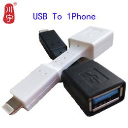 Otg flash drives online-Kawau 1 Adaptador USB para teléfono USB a 1 Adaptador para teléfono Convertidor a cable para Pendrive Flash Drive a Lighting1 Ratón para computadora OTG