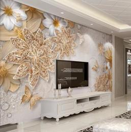 Promotion Marbre Fleurs Mur Decor Chambre A Coucher Vente