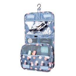 Wholesale Hanging Accessory Bag - Women's Men's Hanging Cosmetic Bag Makeup Case Travel Organizer Wash Pouch Beauty Products Toiletry Storage Accessories Supplies