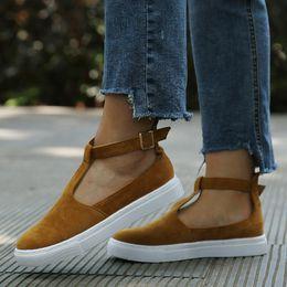 2019 moda scarpe chiuse piatte Bigsweety Estate Autunno Donne Sandali Moda  Donna Scarpe basse a punta 43b38611503