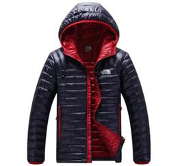 mens invernali leggeri Sconti 2018 Uomini casual caldo Giacche giacca invernale sottile traspirante solido Mens outwear Cappotto leggero parka Plus taglia L-5XL
