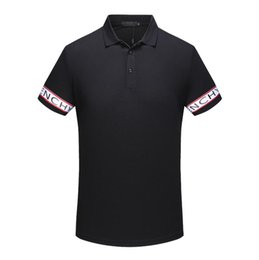 Wholesale Design Polo T Shirts - Medusa T-shirt Spring Summer 2018 polo shirt fashion Short Sleeved polo t shirts men tee design printing poloshirt clothes polos tops 3XL
