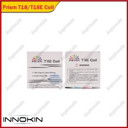 Authentique prisme Innokin Endura T18 T18E Bobines de rechange tête de pulvérisation 1,5ohm pour Innokin Endura T18 Kits ? partir de fabricateur
