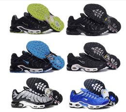 Wholesale Max Tn Shoes - Free shipping Cheap New arrival Maxes TN Running Shoes Mens Red Black Sports Shoes High Quality Men KPU Runner Sneakers Size 40-46