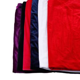 2019 ткань для пейсли 2018 велюр ткани для шитья одежды шляпа пальто 6 цветов 50*150 см сплошной цвет велюр ткани лоскутное ремесло окрашенные