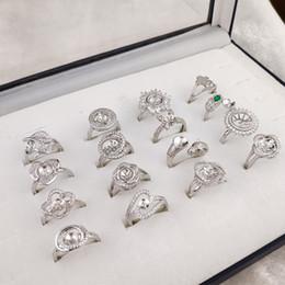 2019 große hochzeitsringe Mode Große Perle Ring Einstellungen Zirkon Silber Ringe Einstellungen DIY Ring für Frauen Geeignet für Perle 6-9mm Einstellbare Größe DIY Schmuck Hochzeit rabatt große hochzeitsringe