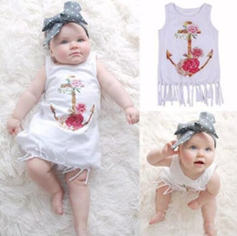 Wholesale Straight Evening Dresses - Fashion Lovely Baby Kids Girls Flower Tassels Princess Party Evening Tutu Cotton Dress Clothes 1-6T B11