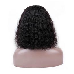 Perruques de cheveux humains frontales en dentelle malaisienne / péruvienne 13 * 4 brésiliennes à la dentelle avec une densité de 130% ? partir de fabricateur