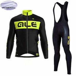 Vestuário térmico para bicicletas on-line-triathlon Tour de France conjunto de jersey de Ciclismo Inverno Térmica de Lã de Manga Longa roupas de ciclismo bicicleta Ropa Ciclismo desgaste da bicicleta dos homens