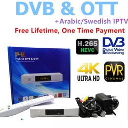 2019 núcleo t2 Nuevo H.265 Android TV Box DVB s2 + t2 4k Quad-core tv box, Free Life Time IPTV 860+ LIVE y 1000 Películas Android Box DVB s2 rebajas núcleo t2