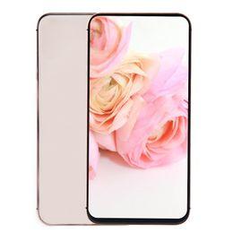 2019 двухъядерный основной телефон 6,5-дюймовый экран HD + Goophone XS Max V5 4G LTE 64-разрядный четырехъядерный процессор MTK6739 2 ГБ 16 ГБ + 32 ГБ Face ID Беспроводная зарядка Dual Nano Sim Smart Phone дешево двухъядерный основной телефон