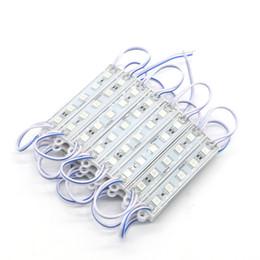 Tabuleiro on-line-Ordem pequena 500 pcs IP65 à prova d 'água 5 leds 5050 SMD DC 12 v LED MÓDULOS para Placa de Sinal W / WW / R / G / B / Y