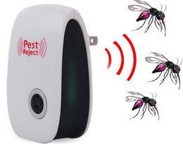 Wholesale ultrasonic mole - Electronic Ultrasonic Pest Repeller Mole Mice Repellent Anti Cockroach Mosquito Insect Killer Rodent Bug Zapper Reject DDA548