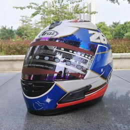 Wholesale Abs Color - ARAI RX-7X New LE Helmet Motorcycle Helmet RX-7 EU  CORSAIR-X US IOM TT Full Face Motocoss Racing Helmet Isle of Man re