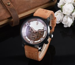 Wholesale Center Strap - 2018 latest version of the silicone strap sports military menes or womees wath center clock calendar reloje man watches the freedom of man&#