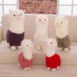 2019 cute peluche giapponese Cute toy Arcobaleno Alpaca Plush Doll Toys Carino Llama Alpacasso Peluche Giapponese Peluche Bambola Bambini Regalo Dei Bambini OTH893 cute peluche giapponese economici