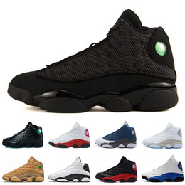 13 13s Chaussure de basket-ball Melo classe de 2002 Phantom Grey Toe Breed Black Cat Chicago Love Respect baskets de designer sportif sportif ? partir de fabricateur