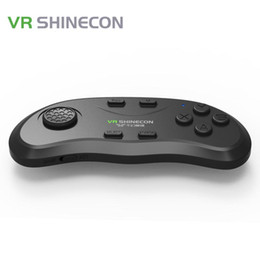 tv pad sans fil Promotion Poignée de manette portable d'origine VR Shinecon Bluetooth sans fil à main pour VR Smart TV iOS Android Smartphone Pad
