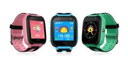 pulseira sos criança Desconto Q9 Kid Relógio Inteligente Relógio Do Bebê Pulseira Inteligente com Câmera Remoto LBS SOS Safty Relógios Slot Para Cartão SIM com Caixa De Varejo