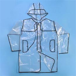 Wholesale Raincoats For Adults - Fashionable Women Raincoats L M For Choose Soft Outdoor Rainwear Waterproof Transparent Raincoat Plastic Foldable 25 5lr2 X