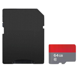 sd cards retail UK - Top Selling White Android 128GB 64GB 32GB TF Flash Memory Card Class 10 Free SD Adapter Retail Blister Package Epacket DHL Free Shipping