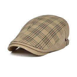 2019 берет хаки VOBOOM Ivy Casual Berets Men Women Hats Unisex Summer Berets Caps Adjustable  Khaki Caps 026 дешево берет хаки
