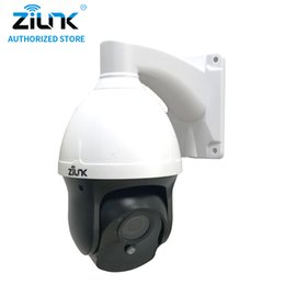 Wholesale Waterproof Cmos Cctv Camera - ZILNK New Mini 1080P 2MP HD 3 inch Pan Tile Zoom Speed Dome IP Camera Waterproof CCTV Support Motion Detection ONVIF H.264 Wired