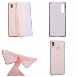 Canada 1.5MM Antichoc Transparent Souple TPU Case Pour Huawei P20 Pro P10 Lite Mate 10 cheap cover cell blank Offre