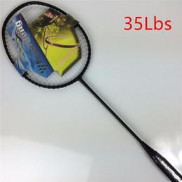 a6d72ecb8 2019 raquete de grafite Raquete de badminton de grafite alto módulo 30Lbs  até 35Lbs Raquete de