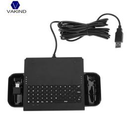 2019 freude schwarz VAKIND Ultra Slim Online-Chattastatur mit Kabel Ergonomische schwarze ABS-Tastatur für Switch Joy-Con Console Lightweigh günstig freude schwarz