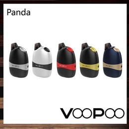 Wholesale Silver Panda Wholesale - VooPoo Panda Kit 5ml Portable ALL-IN-ONE Pod System 1100mah Built-in Battery Vertical Injection System 100% Original