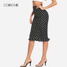 e26844414 Falda Negra De Corte Alto Online   Falda Negra De Corte Alto Online ...