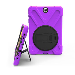 "Wholesale ipad rugged - Heavy Duty ShockProof Rugged Impact Hybrid Tough Armor silicone Case For Samsung TabA 10.1"" P580 T580 T585 9.7 T550 Tab S2 9.7"" T810 T820"