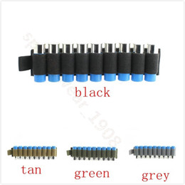 Wholesale Business Stickers - Outdoor Adjustable Tactical 9 hole rotating hook iron rifle cartridge insert card zone back stickers Mag Pouch Gun Accessories