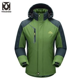 Wholesale Men Faux Fur Parka - Plus Size 4XL 5XL Winter Jacket Men Warm Parka Casual Men's Windbreaker Motorcycle Waterproof Mounain Sportswear Male KSK-12323