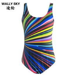 Wholesale Natural Blue Pools - Women's Sexy Backless Monokini Woman Plus Size 3XL One-piece Swimwear with Strip Female Swimming Suit Bathing Suit Swimming Pool