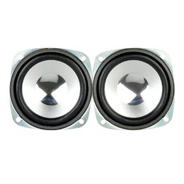 Wholesale phone range - ortable Audio Video Speakers Aiyima 2Pcs 3inch 8 Ohm 5W Satellites Speaker Full-Range DIY Speakers home theater Multimedia Radio Mini Por...