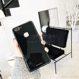 Étui en verre trempé coloré TPU miroir PC Couverture arrière de protection pour iphone X 8 7 6 S 6 Plus Samsung Note8 S8 plus J3 J5 J7 pro Sac Opp ? partir de fabricateur