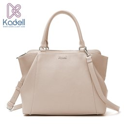 Wholesale phone range - Kadell 2017 New Elegant Lady Business High Range Doctor Bag Designer Handbags High Quality Tote Bag Leather Shoulder Bag
