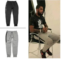 Wholesale Men Casual Slim Trousers - Black Gray Hot Pants Men Spring Autumn Jogger Casual Sport Slim Fit Long Pencil Pants Male Basketball Training Long Trousers