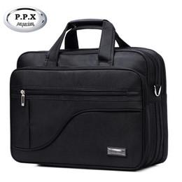 Wholesale Messenger Bag 13 Men - P.P.X Oxford Notebook Computer Bags High Quality 13-17 Inch Men Singer Shoulder Messenger Bags Business Briefcase Handbag Y102