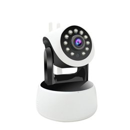 Wholesale Audio Access - Home Baby Monitor 1.0MP Infrared Night Vision Wireless IP Camera With Real Two Way Audio
