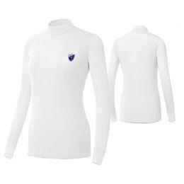 Wholesale long sleeve underwear women - Golf Sunscreen Womens Ice Tshirts Outdoor Sport Clothing Primer Shirt Underwear Long Sleeve Clothes Golf Apparel