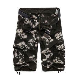 Шорты тренировочные мужские онлайн-2018 Summer Hot Selling Coon Camouflage Cargo Shorts Men Casual Slim Camo Mens Shorts Workout Men Short Pants